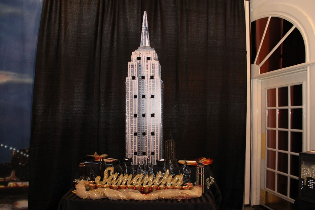 NYC Skyline Sweet 16 Excelsior Grande Candle Lighting Ceremony NY Style