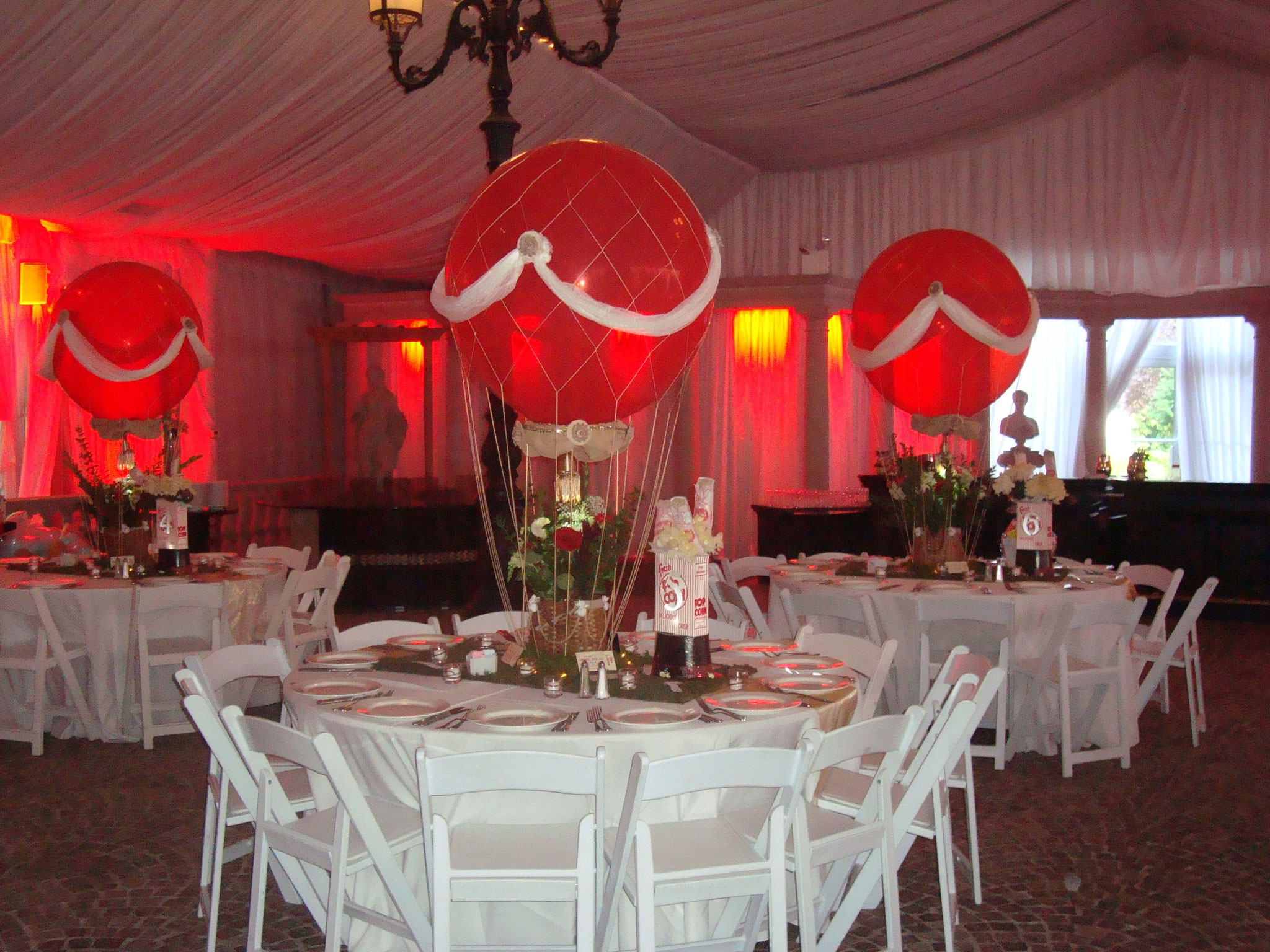 Vintage Carnival Sweet 16 Hilton Garden Inn Trevi Garden : sweet 16 table settings - pezcame.com